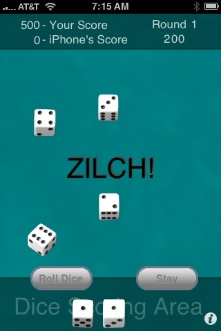Screenshot iZilch